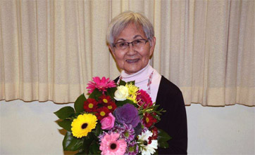 Mary Kitagawa has led the campaign for UBC to award honorary degrees to the Japanese Canadian students affected by internment. Tosh Kitagawa Photograph
